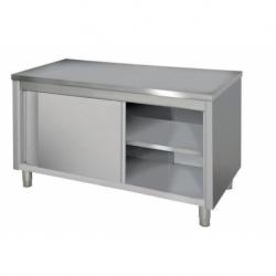 Low cupboard, sliding doors