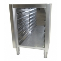 Low open cupboard plaque storage 7 levels
