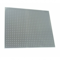 Perforated sheets - delivered with hooks