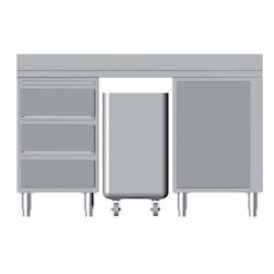 Composition of furniture L 1500 m