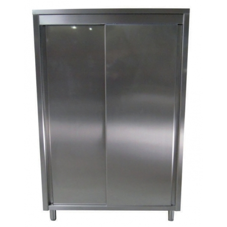 High cabinet with sliding doors