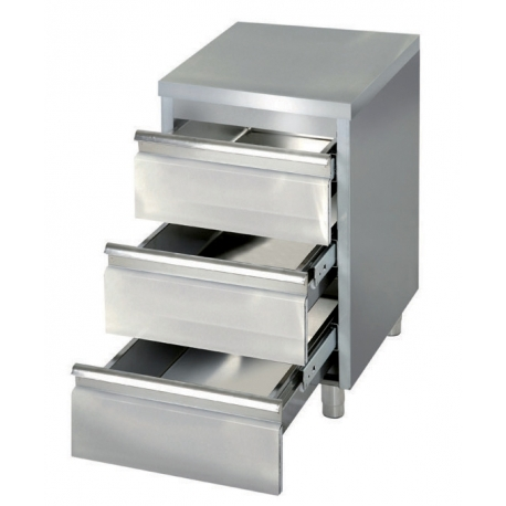 Meuble bas avec tiroirs for Meuble avec plein de tiroirs