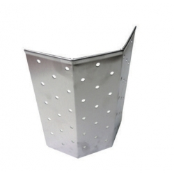 Perforated waste bucket