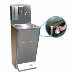 Integral washbasin