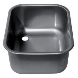 Weld-in sink