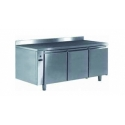 Ventilated positive refrigerated worktable - 400 x 600 - prof 700 - without generator