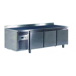 Ventilated negative refrigerated worktables - depth 700 - 400 x 600 mm
