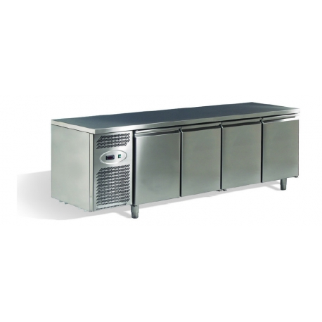 STATIC REFRIGERATION PATISSERIE CABINET -2°/+8° - 400 x 600 - Depth 700 or 800