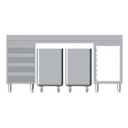 Composition de meubles lg 2000 m