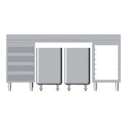 Composition of furniture L 2000 m