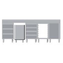 Composition de meubles lg 2500 m