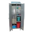 Linen and broom cabinet