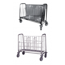 Plate holder trolley