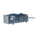 Ventilated positive refrigerated worktable gn 1/1 - depth 700 mm