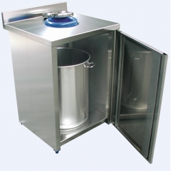 WALL WASTE BIN UNIT
