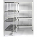 Shelves aluminium duralinox NF