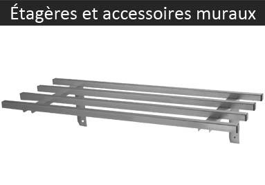 Etagères et accessoires muraux
